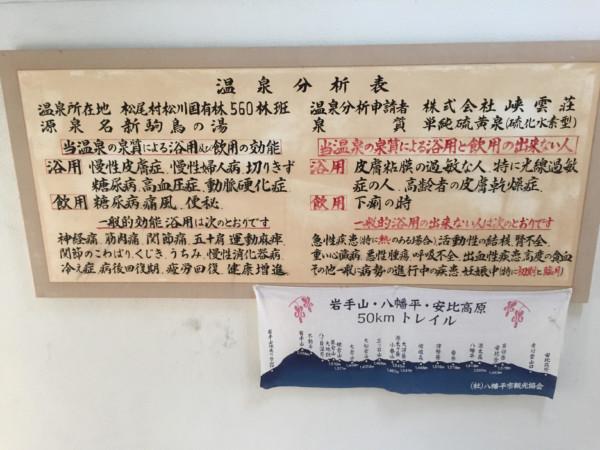 岩手県八幡平市にある秘湯松川温泉の峡雲荘の日帰り入浴の口コミや感想を大量の画像と共にお届けするブログ記事
