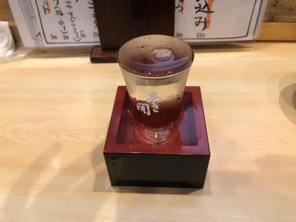 岩手県盛岡市で日本酒が美味しい居酒屋かかし屋で日本酒を楽しんできたレビューブログ記事ホヤや刺身が美味しかったです